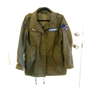 Forever 21 Green Arly style jacket.